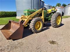 John Deere 2940 MFWD Tractor