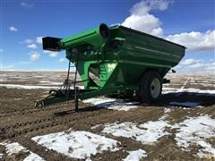 J&M 1326-22D Grainstorm Walking Tandem Grain Cart