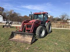 2008 Case IH Maxxum 140 Pro MFWD Tractor W/Loader