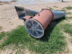 Tri Clad Aeriation Fan W/Gas Heater