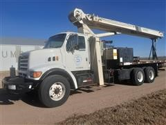 1998 Ford LT8501 T/A Boom Truck W/National 900C