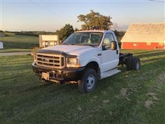 2003 Ford F350 4x4 Cab & Chassis