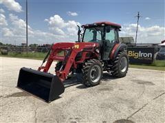 Mahindra 6065 PST MFWD Tractor W/Loader