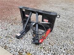 2021 Industrias America Easy Man Tree And Post Puller Skid Steer Attachment