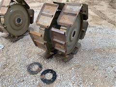 Chief Walker Wheels Steel Pivot Wheels