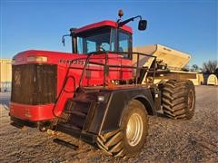 2004 Case IH FLX 4375 Floater W/New Leader L3020G4 Spreader Box