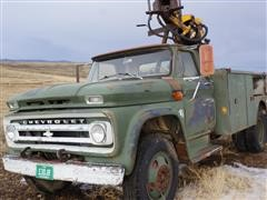 1964 Chevrolet 2x4 S/A Digger Derricks Truck (INOPERABLE)