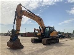 2018 Hyundai HX300L Hydraulic Excavator
