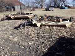 Land Pride 15' Batwing Mowers For Salvage Or Rebuild