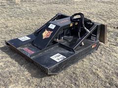 Brush Wolf 4200 Mower Skid Steer Attachment