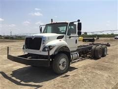 2012 International WorkStar 7400 T/A Truck Cab & Chassis