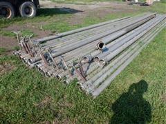 Aluminum Irrigation Pipe & Trailer