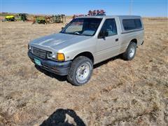 1994 Isuzu 4x4 Pickup W/Topper
