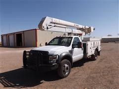 2010 Ford F550XL Super Duty 4x4 Bucket Truck