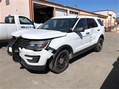 2016 Ford Explorer Police SUV
