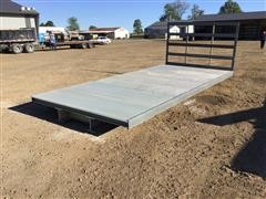 2020 Fiberglass Flatbed Wagon Bed