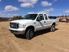 2007 Ford F350 4x4 Extended Cab Pickup