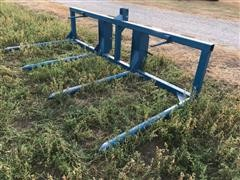 Bohnert 3-Pt Mounted Double Bale Fork