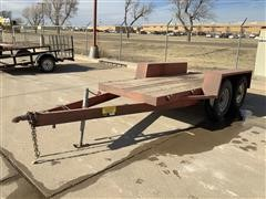Homemade T/A Flatbed Trailer