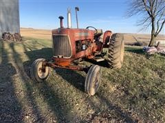 Allis-Chalmers D17 2WD Tractor W/ 7' Sickle Mower