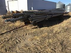 Aluminum Irrigation Pipe & Cart