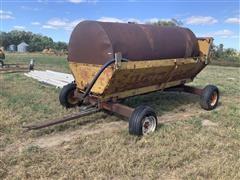 E-Z Trail Wagon W/1000-Gallon Water Tank