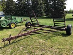 Shop Built Windrower Cart
