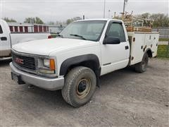 2000 GMC Sierra K3500 4x4 Service Truck