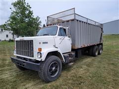 1984 GMC Brigadier J7500 T/A Silage/Grain Truck