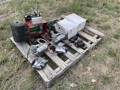 Case IH 1235 Early Riser Air Compressor/Hydraulic Drive Motors & Unused Air Compressors