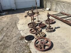 Assorted Feed Auger Drive Pulleys