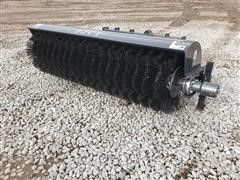 2021 JCT Rotary Broom Skid Steer Attachment