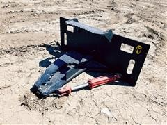 2021 Mid-State Tree Shear/Puller Skid Steer Attachment