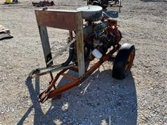 Ford 300 Power Unit W/Pump On Cart