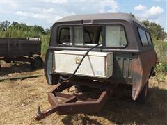Homemade Pickup Box Fuel Trailer