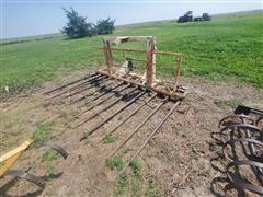 Skid Steer Mounted Hay Buck