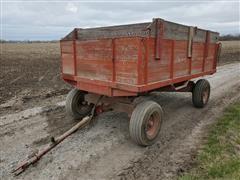 Heider Barge Wagon W/Hoist