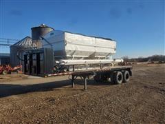 Willmar 16 Ton Dry Fertilizer Box On T/A 1991 South Trailer