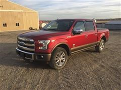2016 Ford King Ranch F150 FX4 4x4 Crew Cab Pickup