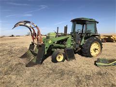 John Deere 4230 2WD Tractor W/Loader (INOPERABLE)