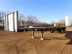 "1997 Great Dane GPMWSAR248 T/A 48'x102"" Spread Axle Flatbed Trailer"