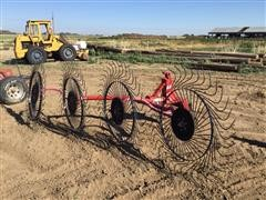 Bush Hog LWR48 3-Pt Wheel Rake
