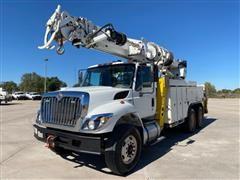 2010 International WorkStar 7400 T/A Digger Derrick Truck