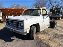 1989 Chevrolet 3500 2WD Cab & Chassis (INOPERABLE - FOR PARTS ONLY)