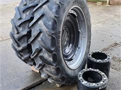 Mitas 380/80R38 Rims, Tires & Spacers