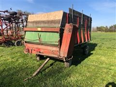 Balzer 4 Wheel Forage Wagon