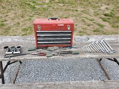 Craftsman 4 Drawer Toolbox & Tools
