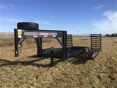 2006 Donahue T/A Swather Trailer