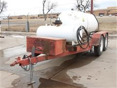 Oil Changing Trailer
