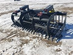2020 Mid-State Rock/Brush Grapple Skid Steer Attachment